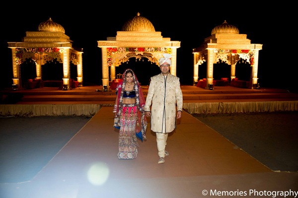 Indian wedding bride groom mandap in Goa, India Indian Wedding by Memories Photography