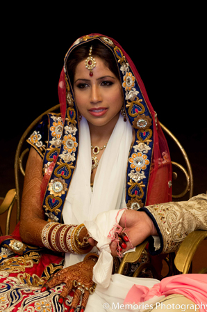 Indian wedding ceremony bride fashion in Goa, India Indian Wedding by Memories Photography