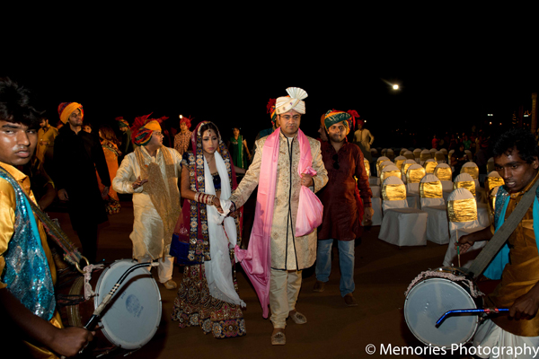 Indian wedding ceremony bride groom in Goa, India Indian Wedding by Memories Photography
