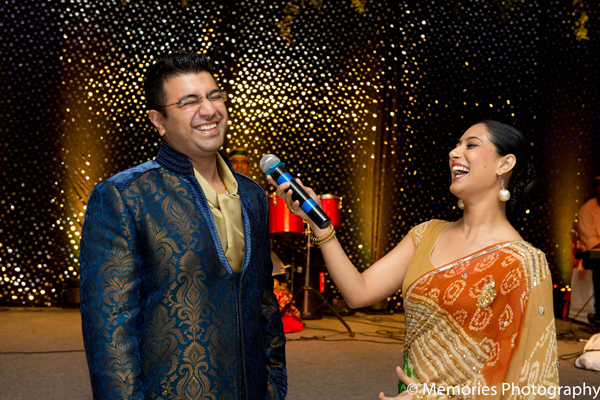 Indian wedding groom sangeet lighting in Goa, India Indian Wedding by Memories Photography