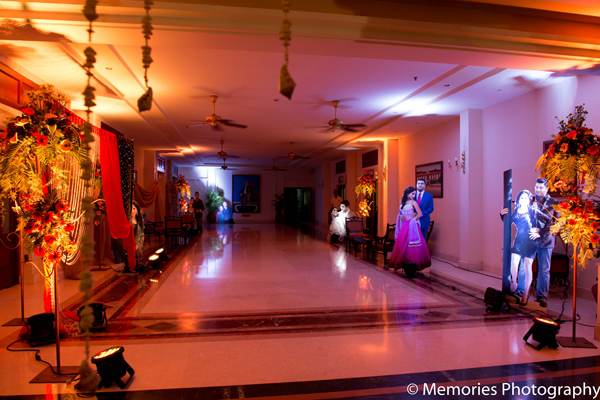 Indian wedding sangeet decor ideas in Goa, India Indian Wedding by Memories Photography