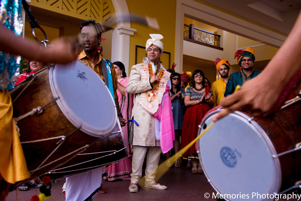 Indian wedding traditional baraat in Goa, India Indian Wedding by Memories Photography