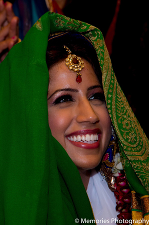Indian wedding traditional bride in Goa, India Indian Wedding by Memories Photography