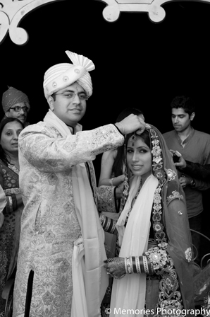Indian wedding traditional ceremony bride groom in Goa, India Indian Wedding by Memories Photography