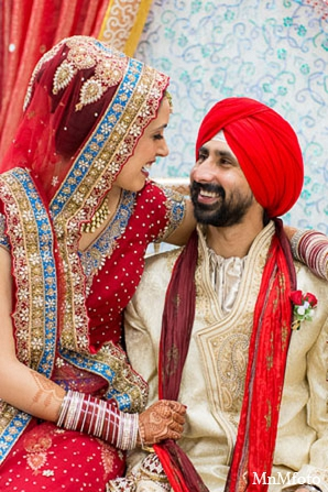 Indian bride groom wedding fashion in San Antonio, Texas Sikh Wedding by MnMfoto