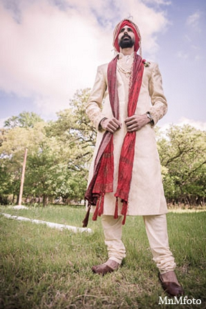 Indian groom attire punjabi photography in San Antonio, Texas Sikh Wedding by MnMfoto