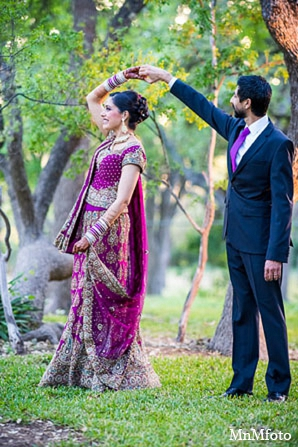 Indian reception bridal lengha groom in San Antonio, Texas Sikh Wedding by MnMfoto