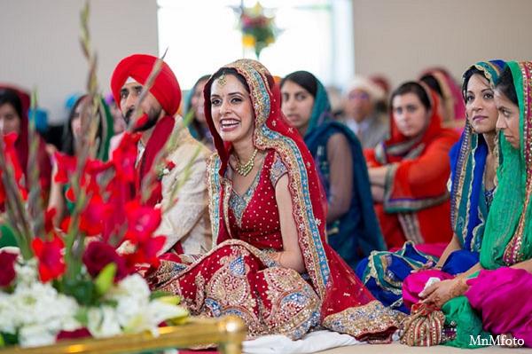 Indian wedding bridal fashion ceremony in San Antonio, Texas Sikh Wedding by MnMfoto
