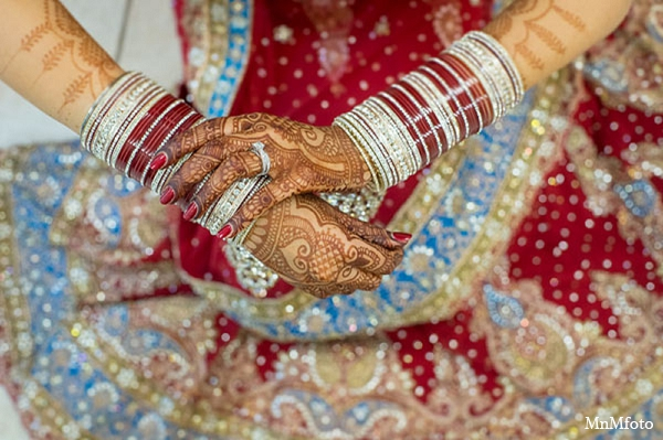 Indian wedding bridal fashion mehndi in San Antonio, Texas Sikh Wedding by MnMfoto