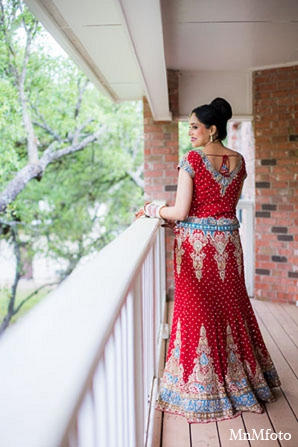 Indian wedding bridal lengha photography in San Antonio, Texas Sikh Wedding by MnMfoto