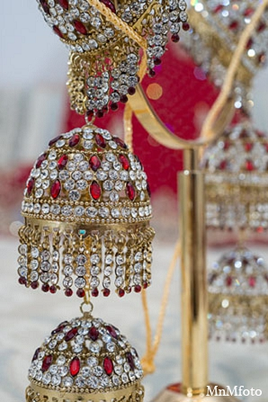 Indian wedding bride fashion jewelry in San Antonio, Texas Sikh Wedding by MnMfoto
