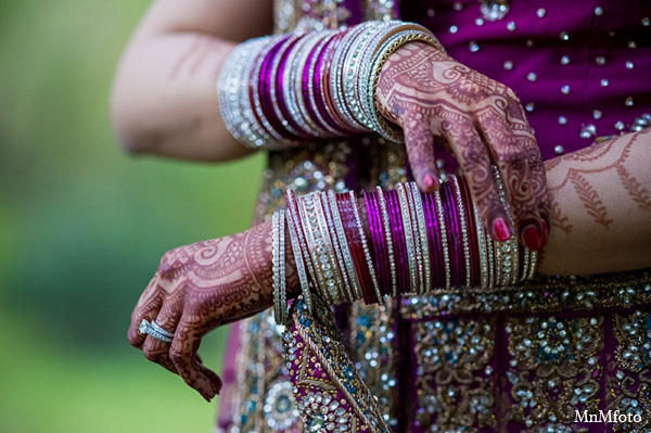 Indian wedding bride reception mehndi jewelry in San Antonio, Texas Sikh Wedding by MnMfoto