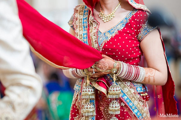 Indian wedding ceremony bride groom fashion in San Antonio, Texas Sikh Wedding by MnMfoto