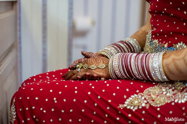Indian wedding clothing fashion bride in San Antonio, Texas Sikh Wedding by MnMfoto