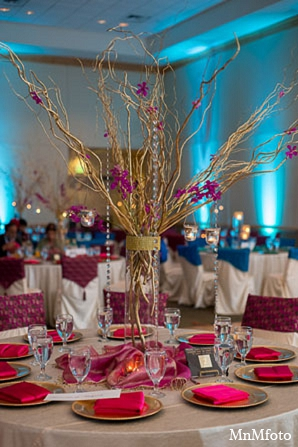 Indian wedding decor receptions decorations in San Antonio, Texas Sikh Wedding by MnMfoto