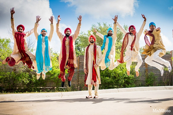 Indian-wedding-grooms-clothing-photography in San Antonio, Texas Sikh Wedding by MnMfoto