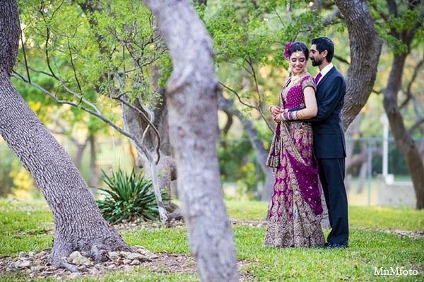 Indian wedding reception bride groom in San Antonio, Texas Sikh Wedding by MnMfoto