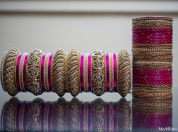 Indian wedding bridal jewelry getting ready in Alexandria, VA Indian Wedding by MnMfoto