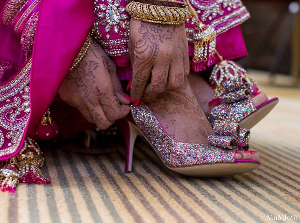 Indian Wedding Bridal Shoes Fashions Photo 11673
