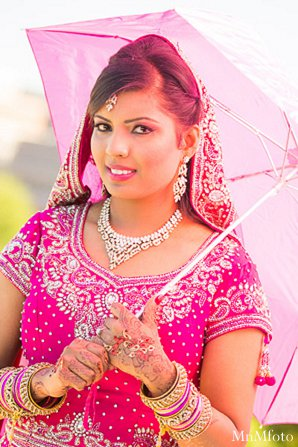 Indian wedding bride close up portraits in Alexandria, VA Indian Wedding by MnMfoto