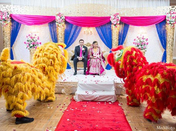 Indian wedding bride groom ceremony in Alexandria, VA Indian Wedding by MnMfoto