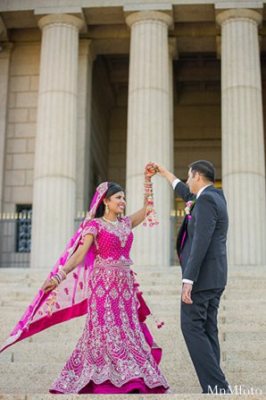 Indian wedding bride groom photography portrait in Alexandria, VA Indian Wedding by MnMfoto