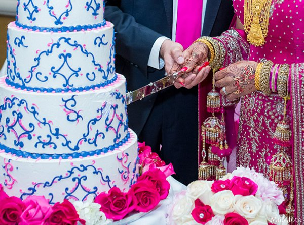 Indian wedding cake bride groom treats in Alexandria, VA Indian Wedding by MnMfoto