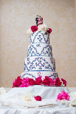Indian wedding cake catering treats in Alexandria, VA Indian Wedding by MnMfoto
