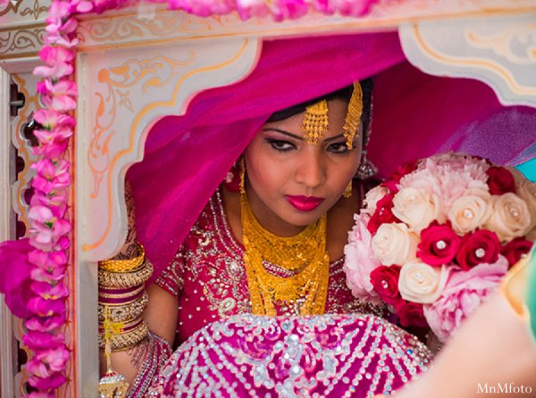 Indian wedding doli brid ceremony in Alexandria, VA Indian Wedding by MnMfoto