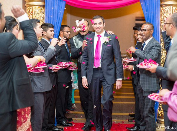 Indian wedding groomsmen tuxedos in Alexandria, VA Indian Wedding by MnMfoto