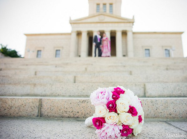 Indian wedding photography bouquet portrait in Alexandria, VA Indian Wedding by MnMfoto