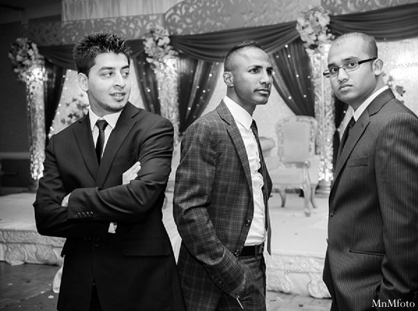Indian wedding photography groomsmen in Alexandria, VA Indian Wedding by MnMfoto