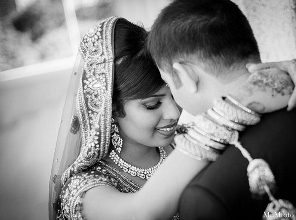 Indian wedding portriats goom bride in Alexandria, VA Indian Wedding by MnMfoto
