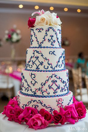 Indian wedding reception cake treats catering in Alexandria, VA Indian Wedding by MnMfoto