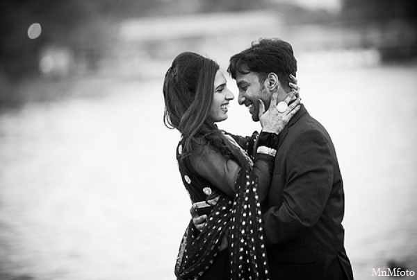 Indian wedding engagement photo session black white in Sunday Sweeheart Winners ~ Jafar & Ummama by MnMfoto