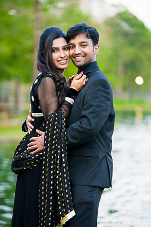 Indian wedding engagement photo shoot bride groom in Sunday Sweeheart Winners ~ Jafar & Ummama by MnMfoto