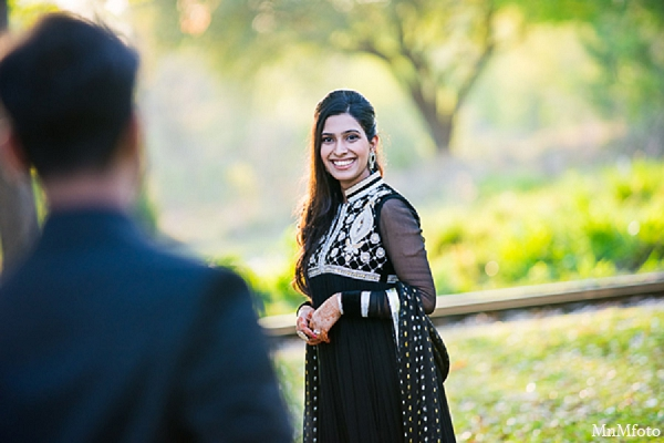 Indian wedding engagement photos outdoor bride groom in Sunday Sweeheart Winners ~ Jafar & Ummama by MnMfoto