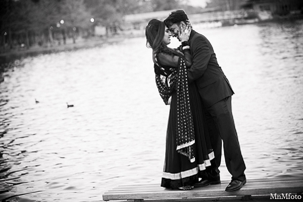 Indian wedding engagement photos outdoors in Sunday Sweeheart Winners ~ Jafar & Ummama by MnMfoto