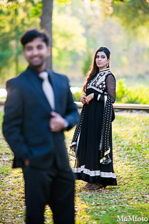 Indian wedding engagement photos trees bride groom in Sunday Sweeheart Winners ~ Jafar & Ummama by MnMfoto