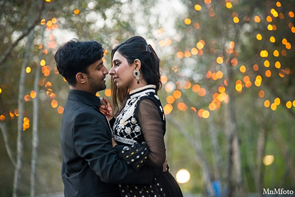 Indian wedding engagement photos twinkle lights in Sunday Sweeheart Winners ~ Jafar & Ummama by MnMfoto