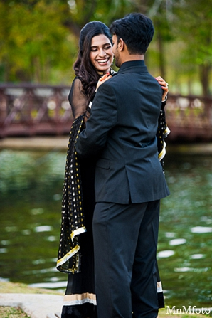 Indian wedding engagement shoot water outdoors in Sunday Sweeheart Winners ~ Jafar & Ummama by MnMfoto