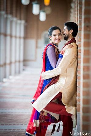 Indian wedding groom gold blue in Sweethearts Sunday Winnner ~ Navneet & Koijan by MnMfoto