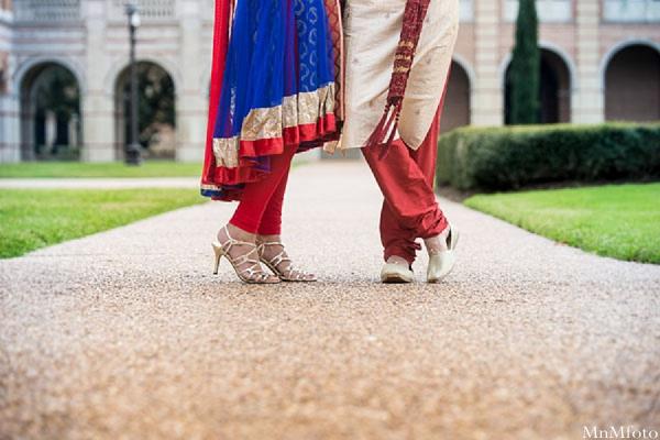 Indian wedding outside foot shot portrait in Sweethearts Sunday Winnner ~ Navneet & Koijan by MnMfoto