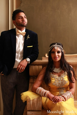 indian-wedding-bride-groom-yellow-dress