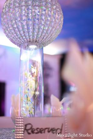 Indian-wedding-decor-crystal-centerpiece