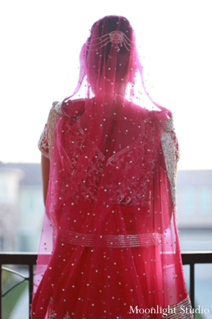 Indian-wedding-lengha-red-veil