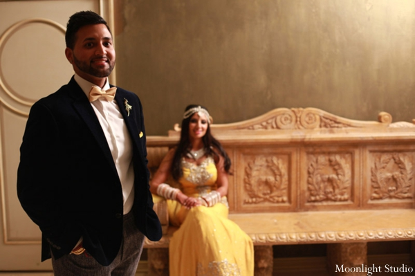 Indian-wedding-reception-portrait-bride-groom