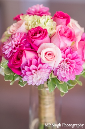Indian-wedding-boquet-pink-petals