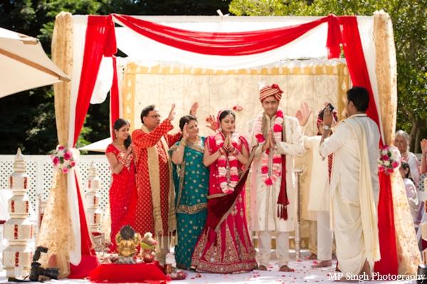 Indian-wedding-ceremony-bride-groom-couple-mandap