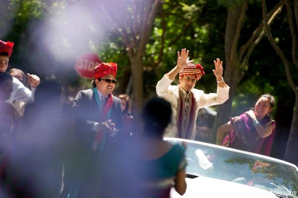 Indian-wedding-groom-baraat-celebration